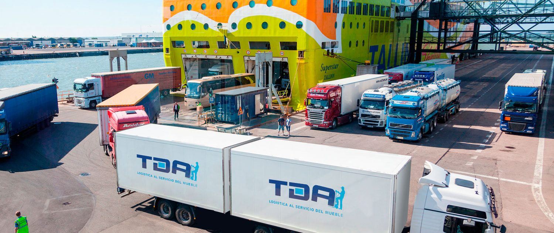 Transportes De Muebles : Transportes de muebles logistica del mueble transporte